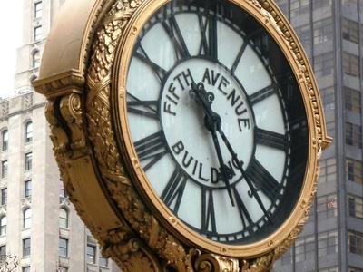 Landmark Sidewalk Clock