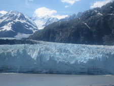 Close View Of Margerie Glacier