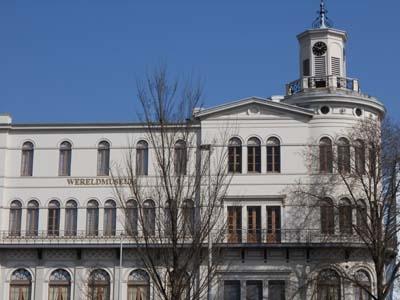 Clock Tower Of Wereldmuseum