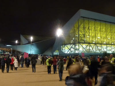 Night View Of London Aquatic Centre