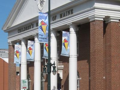 Children's Museum Of Maine Exterior
