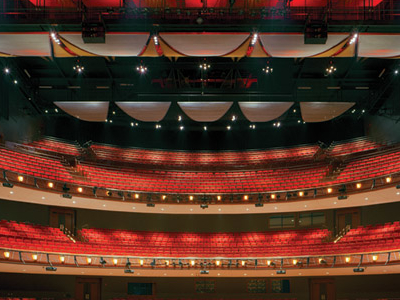 Cobb Energy Centre Stage View