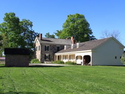 Cobblestone  Farm  Farmhouse