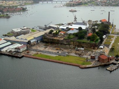 Cockatoo Island Panorama