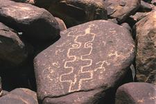 Petroglyph In The Cocoraque Butte