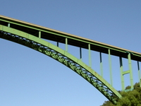 Cold Spring Canyon Puente de arcos