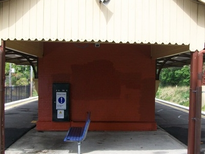 Coledale Station Seating Area