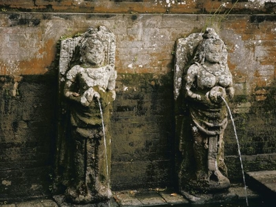 Balinese Water-Spout Statue