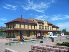 Old Train Station And Railway Museum
