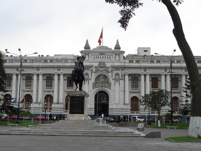 The Plaza Bolivar