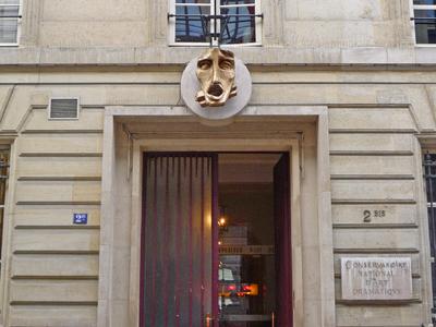Entrance To The CNSAD