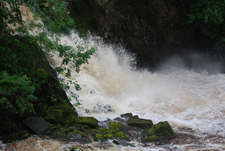 Conwy Falls After Heavy Rain