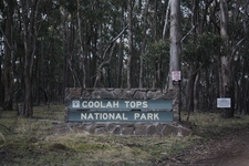 Coolah Tops National Park Entrance