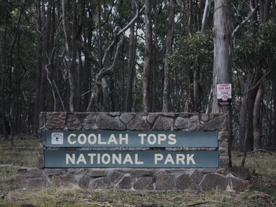 Coolah Tops National Park Entrance