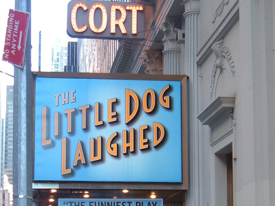 The Cort Theatre Marquee