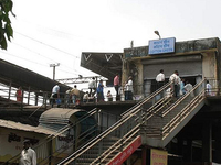 Cotton Green Railway Station