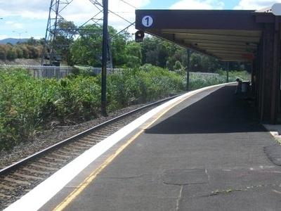 Cringila Railway Station Platform