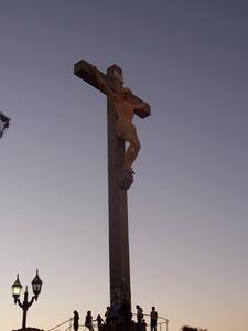 Christ Sculpture In Monte Calvario