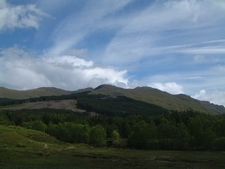 Cruach Ardrain From Glen Falloch