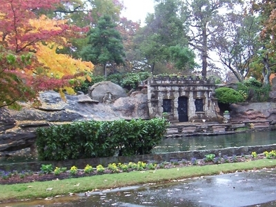 Crystal  Shrine  Grotto Pond