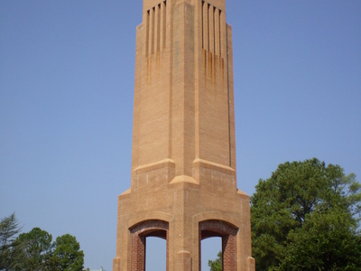 Clock Tower On Main Campus