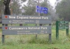 Cunnawarra National Park Entrance