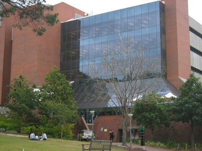 Robertson Library In Bentley Campus