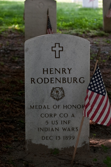 Medal Of Honor Recipient Henry Rodenburg