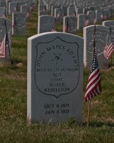 Marine Sergeant John Mapes Adams