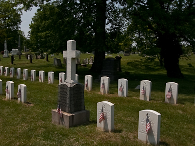 Mount Of Victory Section Contains War Of 1812 Graves