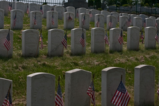 The Old Field With Civil War Graves