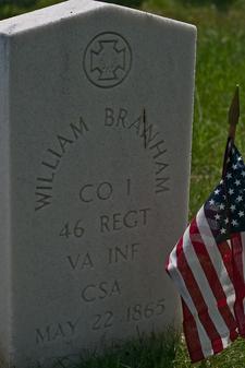 CSA Soldier William Branham
