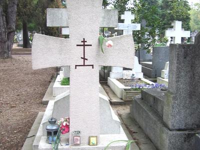 Ivan Bunin's Grave