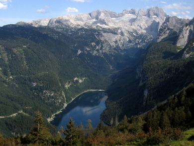 Hoher Dachstein From The North-West