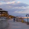 Beach Promenade On A Winter Day