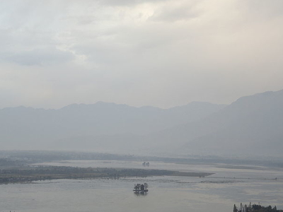 Dal Lake With Chinar Islands