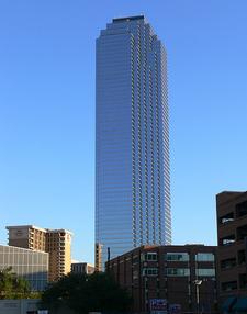 Dallas Bank Of America Plaza View