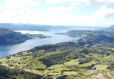 Dalsfjorden  Rivedal