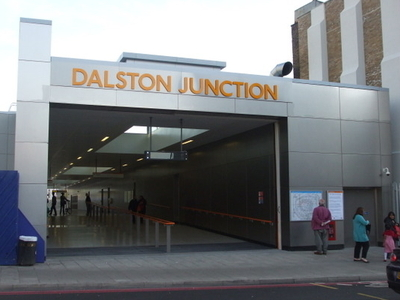 Dalston Junction Station Entrance