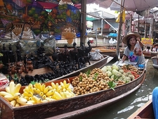Damnoen Saduak Floating Market - Fruits & Novelty Ware For Sale