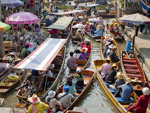 Half Day Floating Market (Damnern Saduak) Photos