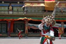 Dancer In Traditional Costume -Sikkim