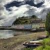 Dark Clouds Over Portree Harbor
