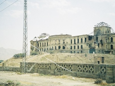 Darul Aman Palace Northern Elevation