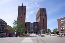 Das Osloer Rathaus - Norway