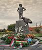 David And Goliath Statue - Hajdúböszörmény