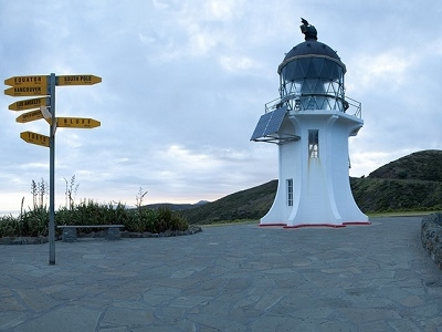 Dawn @ Cape Reinga Lighthouse NZ
