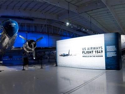 DC-3 1549 Exhibit Entrance Wall