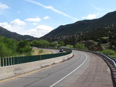 Deadman Curve Old Route 66