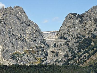 Death Canyon - Grand Tetons - Wyoming - USA